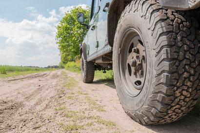 BF Goodrich All Terrain KO2 tires