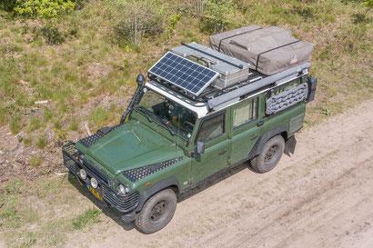 Land Rover Defender overland preparation