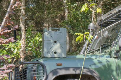 The LifeSaver jerrycan provides us with clean, fresh and safe drinkingwater