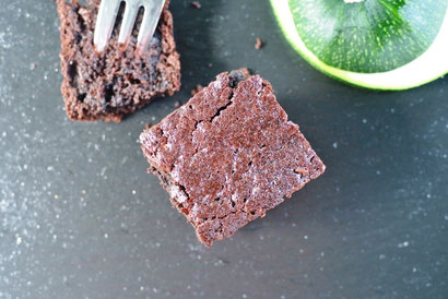 Saftig durch Zucchini: Schoko-Brownies