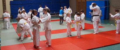 Archivbild - JJU NW Jugendtraining im Jiu Jitsu
