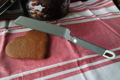 Tortenpalette, Streichmesser, Streichpalette, Glasurpalette von K.D. Michaelis