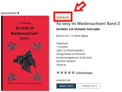 Bestseller BoD Buchshop: eBook/Buch: So sexy ist Niedersachsen! Band 2 von K.D. Michaelis