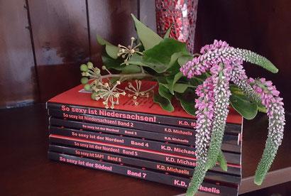 Alle 7 Bände der eBooks/Bücher: So sexy ist Niedersachsen, der Norden, der Süden, SAP! von K.D. Michaelis