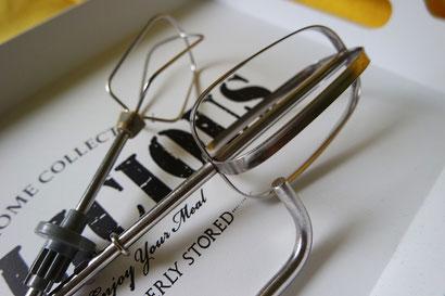 Quirle elektrischer Handmixer im Vergleich, Knethaken, Quirl von K.D. Michaelis