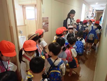 幼稚園遠足 出発!