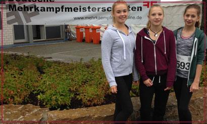 v. l.: Janina, Anna und Luisa