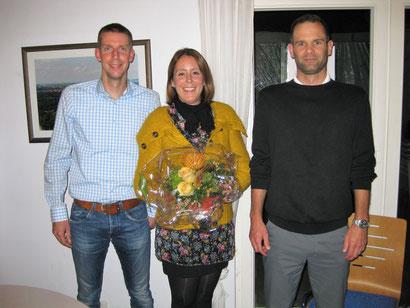 Von links nach rechts: Sven Becker, Julia Langwald, Ralf Unser
