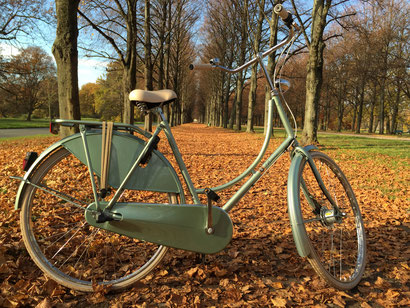 BATAVUS Old Dutch crystalgreen Herrenhäuser Allee Hannover Fahrradcafé