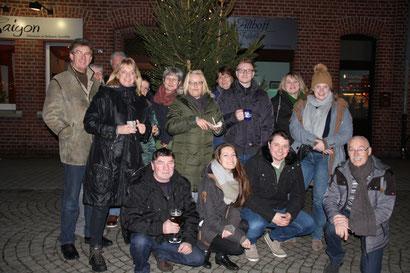Auf dem Bild: RCS GmbH in Weihnachtsstimmung