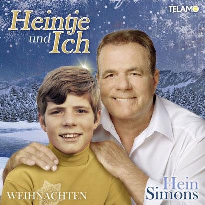 """Mit freundlicher Genemigung von Hein Simons - Das Cover des Albums """"Heintje und Ich - Weihnachten"""""""