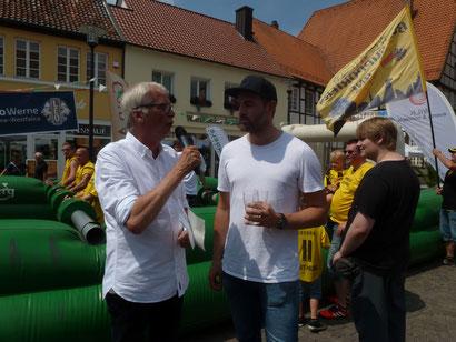 Budenzauber im heißen Kessel von Werne beim KICKER CHARITY CUP ...