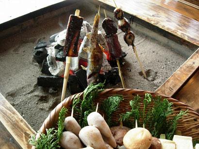 高森田楽保存会の味噌田楽