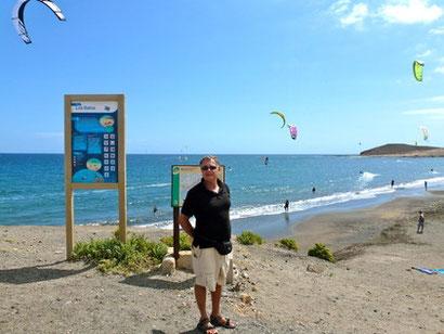 Bild: Am Strand von El Médano