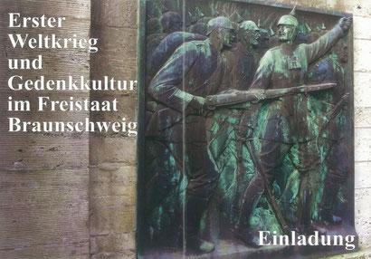 Erster Weltkrieg und Gedenkkultur im Freistaat Braunschweig. Eine Ausstellung in der Gedenkstätte Friedenskapelle Braunschweig