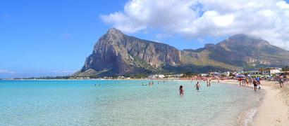 Spiaggia di San Vito Lo Capo | Fonte: Google