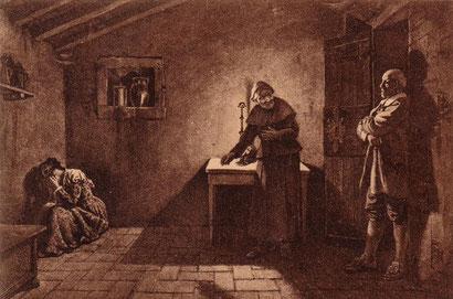 L'incontro fra Lucia e l'innominato