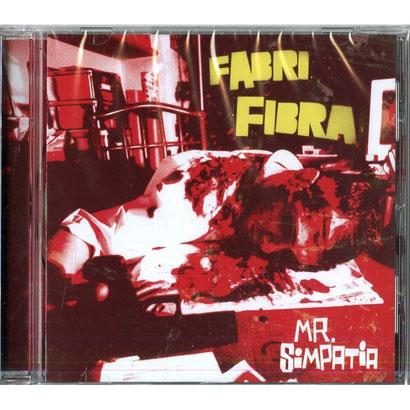 """La copertina dell'album di Fabri Fibra, """"Mr. Simpatia"""""""