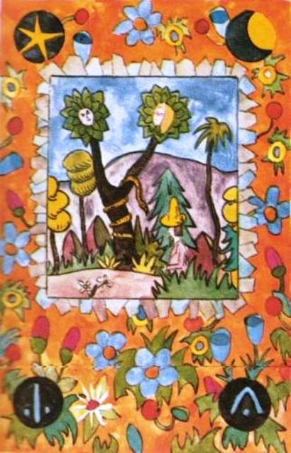 Copertina del manoscritto ''Favola d'amore'' di H. Hesse