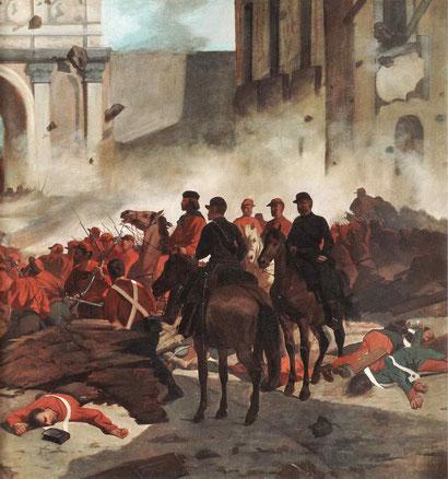 """Giovanni Fattori, """"Garibaldi a Palermo"""" (1860)"""