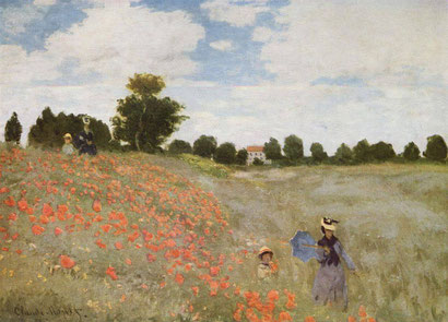 "C. Monet, ""I papaveri"" (1837)"