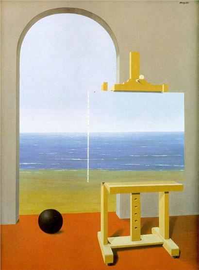 "René Magritte, ""La condizione umana II"" (1935)"