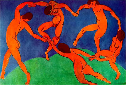 "Henri Matisse, ""La danza"""
