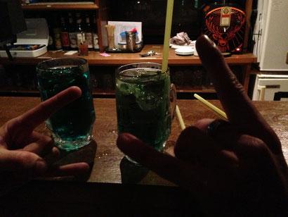 Foto von grünen Drinks