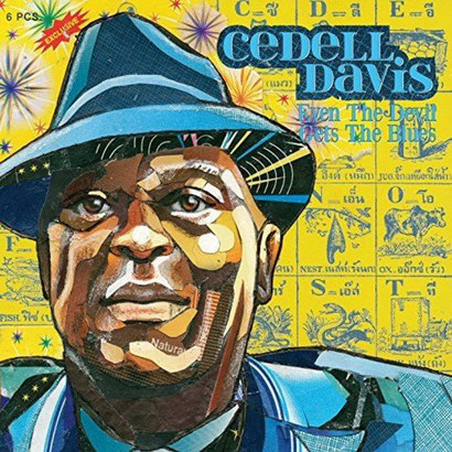 the Funky Soul -  Cedell Davis ‎– Even The Devil Get's The Blues
