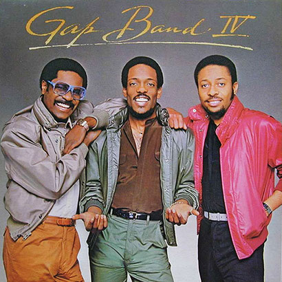 the Funky Soul story - 1982 The Gap Band - The Gap Band IV