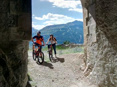 VTT Briançon serre chevalier vélo électrique AE fort