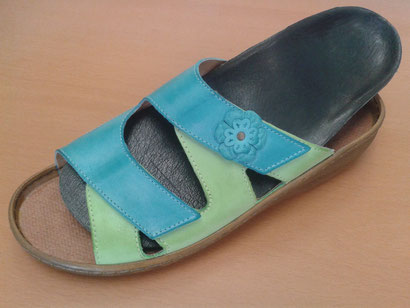 sample sandal custom orthotic