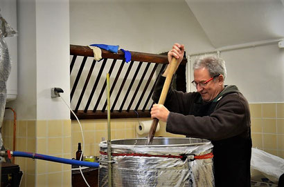 Brassage au fourquet, empatage, multipalier, Jean Michel Goovaerts, Brasseur à La Mousse du Guiers