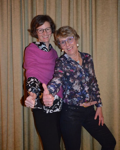 Andrea Beckdorf (Vorsitzende LFV) mit Bibi Maaß