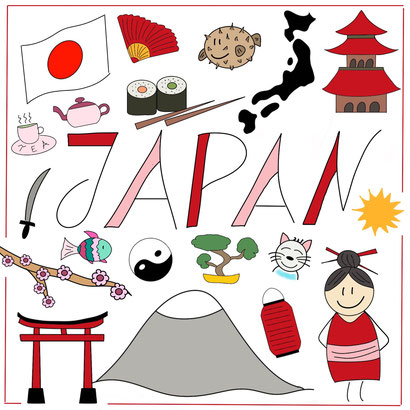 Mein Sketchnotes Reise ABC - J wie Japan