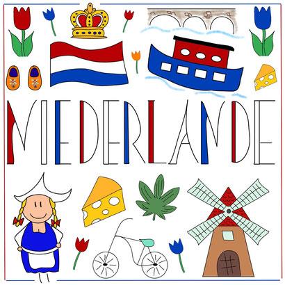 Mein Sketchnotes Reise ABC - N wie Niederlande