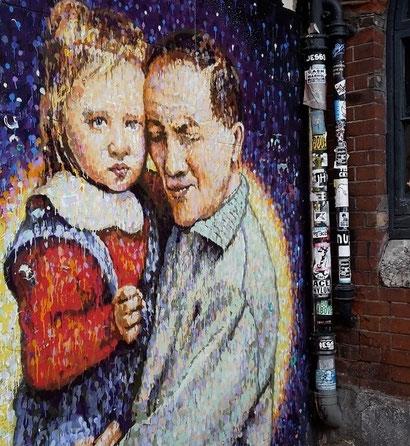 Jimmy C Adelaide, Shoreditch Street Art Tour