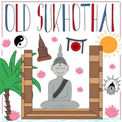 Mein Sketchnotes ABC - O wie Old Sukhothai