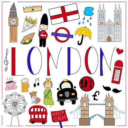 Mein Sketchnotes Reise ABC - L wie London