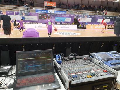 DJ bei BG Göttingen, Basketball DJ, DJ in Sparkassen Arena Göttingen