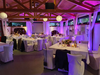 Ambiente Licht, DJ Lichtpaket, Hochzeits Ambiente