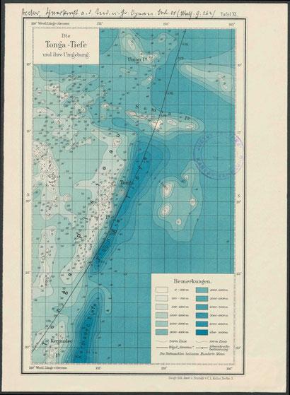 Karten wissen Meer