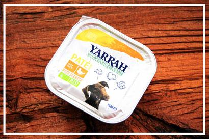 Paté mit Huhn und Meeresalgen von Yarrah