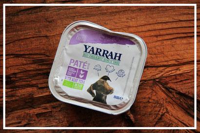 Paté mit Huhn, Truthahn und Aloe Vera von Yarrah