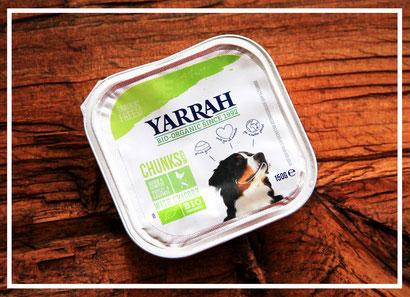 Chunks mit Huhn, Gemüse und Chicorée von Yarrah