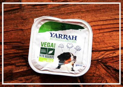Veganes Nassfutter von Yarrah mit Soja
