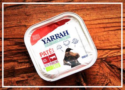 Paté mit Rind und Spirulina von Yarrah