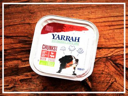 Chunks mit Rind, Huhn und Kräutern von Yarrah