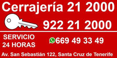 Cerrajería 21 2000 Tenerife
