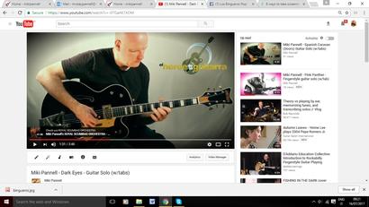 Como tocar la guitarra. Lecciones de guitarra. Tutorial para aprender la guitarra.